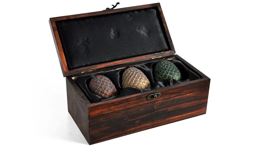 Набор искусственных драконьих яиц