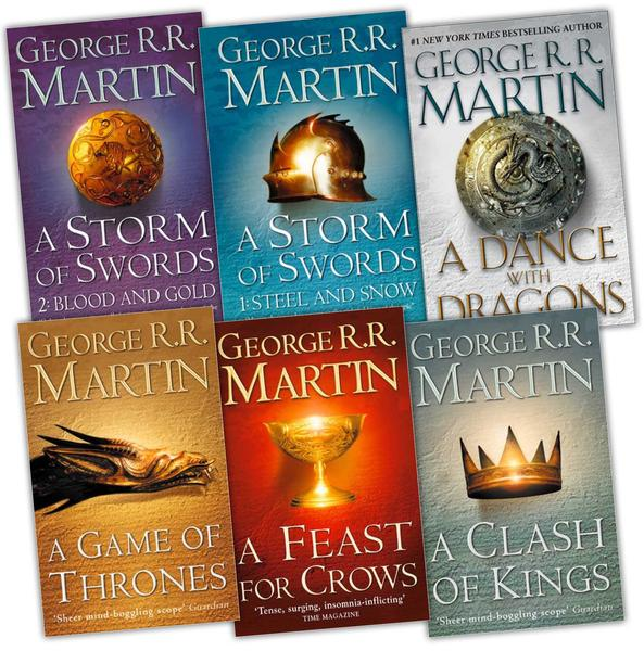 Вся серия книг «Песнь льда и пламени»
