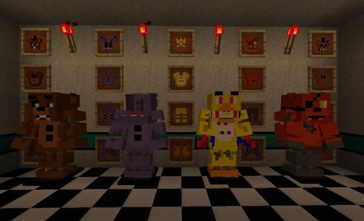 Five Nights at Freddy`s 2: текстур пак
