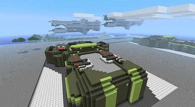 Halo Minecraft Wars