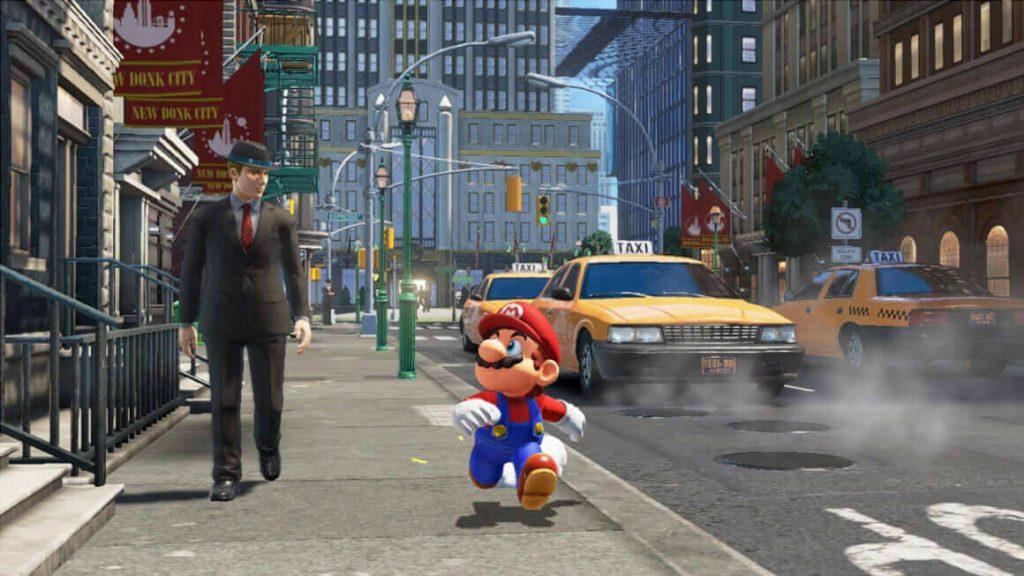 Попрыгать по их головам (Super Mario Odyssey)