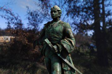 Мод для Fallout 4, с помощью которого можно поклоняться статуе Тодда Говарда