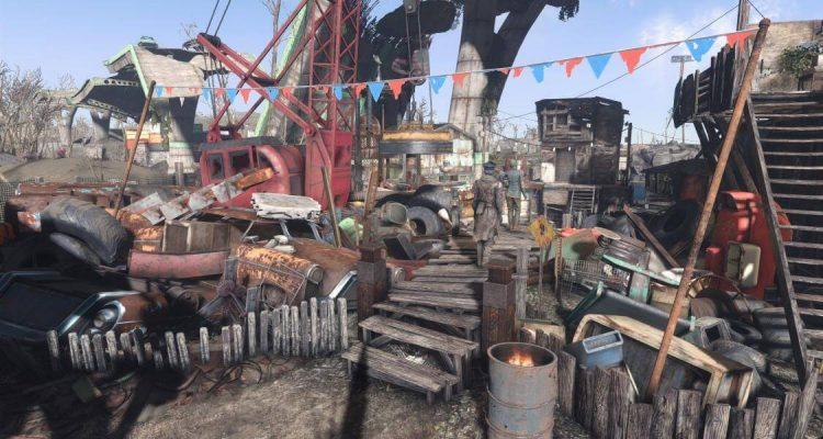 Мод для Fallout 4 позволит НПС планировать и управлять вашими поселениями