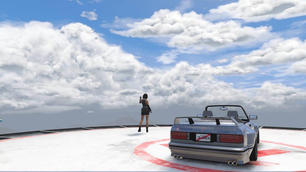 Ретекстур-мод для GTA 5 демонстрирует невиданные ранее облака