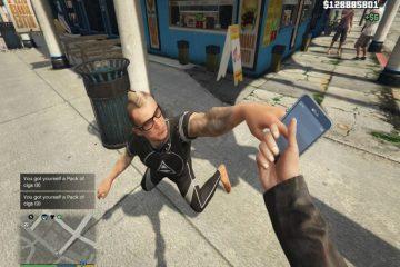 Крадите и продавайте смартфоны, наличку, сигареты с модом для GTA 5