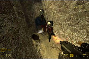 Мод для Half-Life 2 позволит вам топтать головы противников как Super Mario