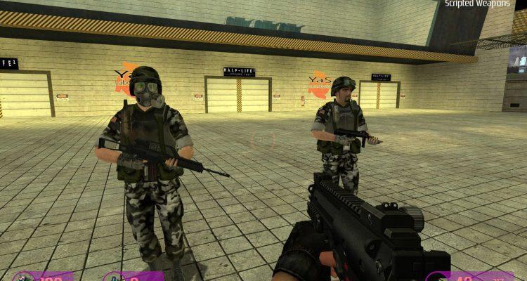 Кооперативный мод Obsidian Conflict для Half-Life 2 вышел из заморозки и скоро появится в Steam