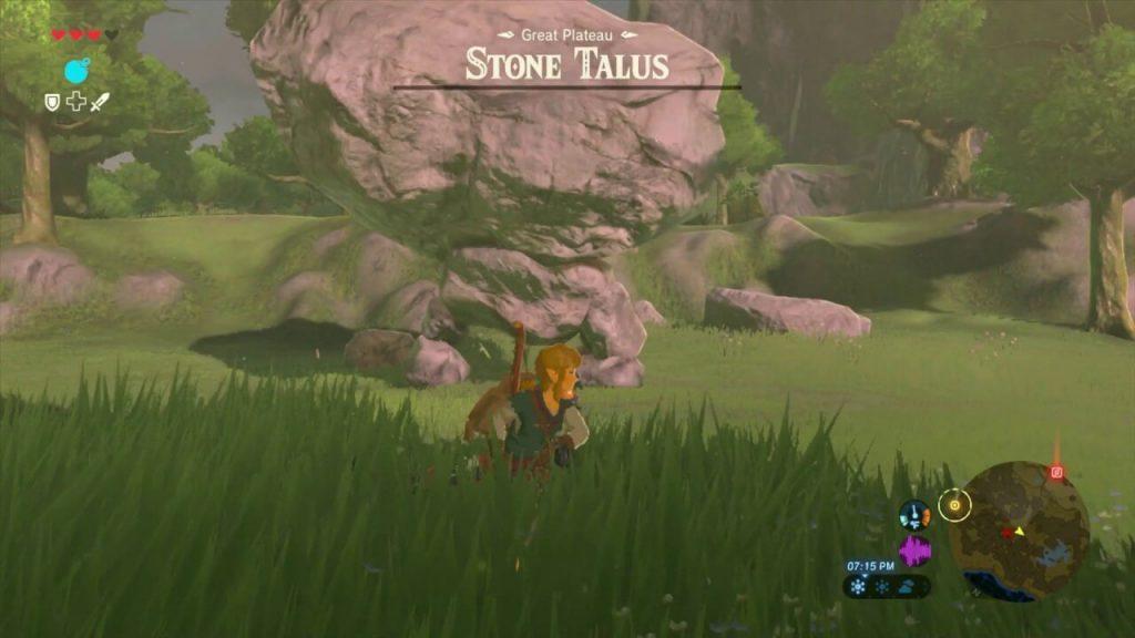 Случайные валуны (The Legend of Zelda: Breath of the Wild)