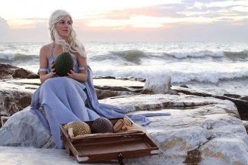 Косплей дня: Элиза Эриан в образе Дейенерис Таргариен