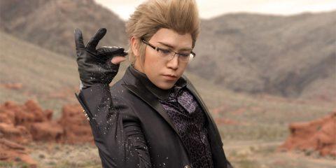 Косплей мема Final Fantasy XV