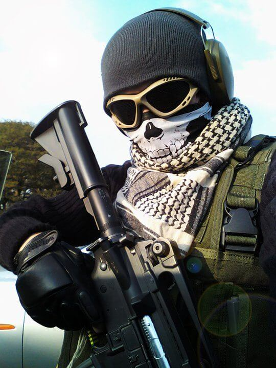 Косплей на Call of Duty: Джаггернаут, Nazi Zombies и другие