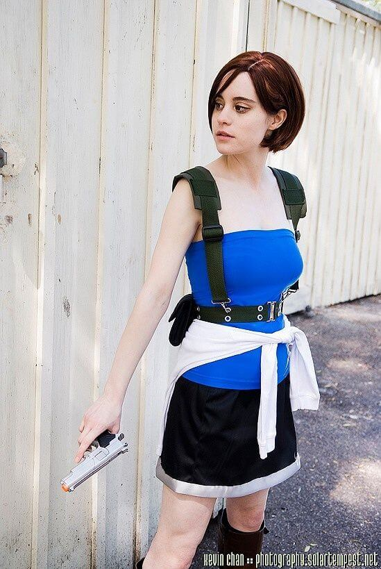 Косплей на Resident Evil: множество лиц Джилл Валентайн