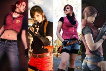 Косплей на Resident Evil: множество лиц Клэр Редфилд