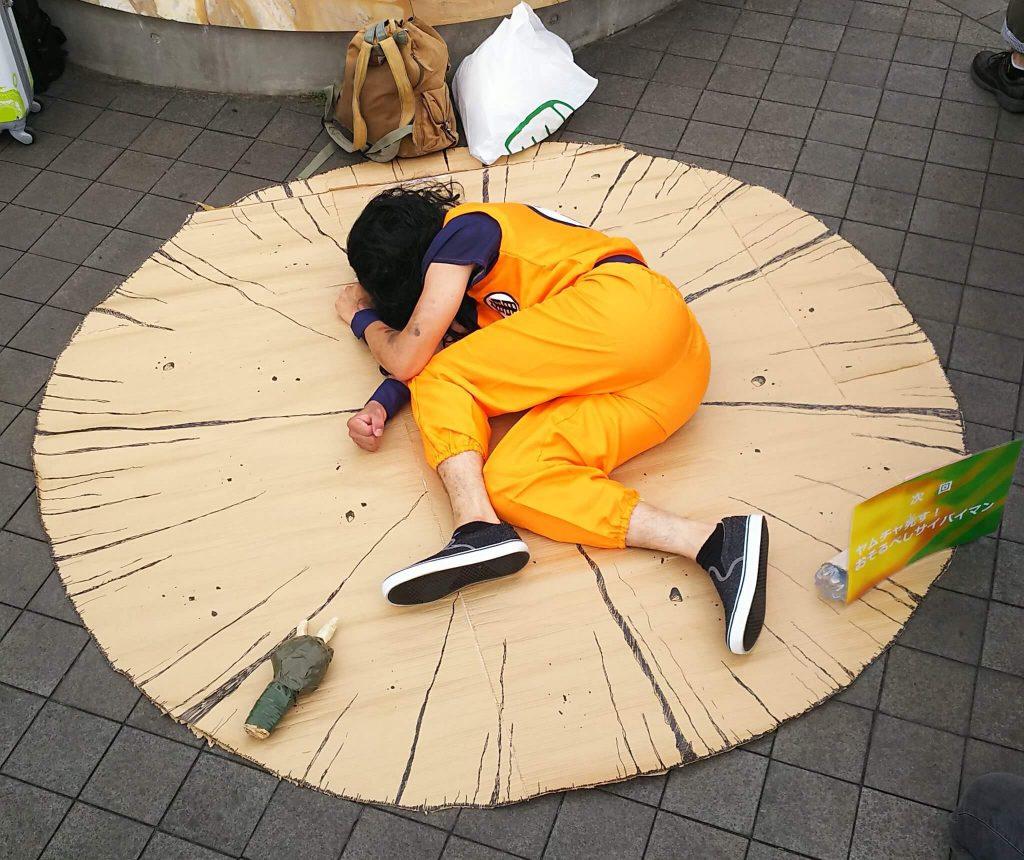 Летний косплей в Японии