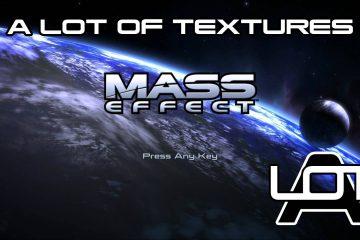 2K/4K Текстур-паки для трилогии Mass Effect обновились сотнями новых текстур