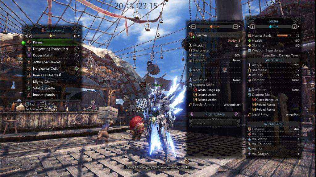 Мод Monster Hunter: World позволяет игроку изменять внешний вид брони