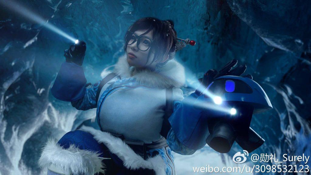 От китайского косплея Mei веет холодом