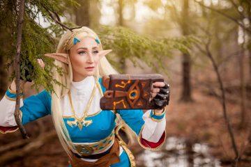 Отличный косплей Zelda: Breath Of The Wild