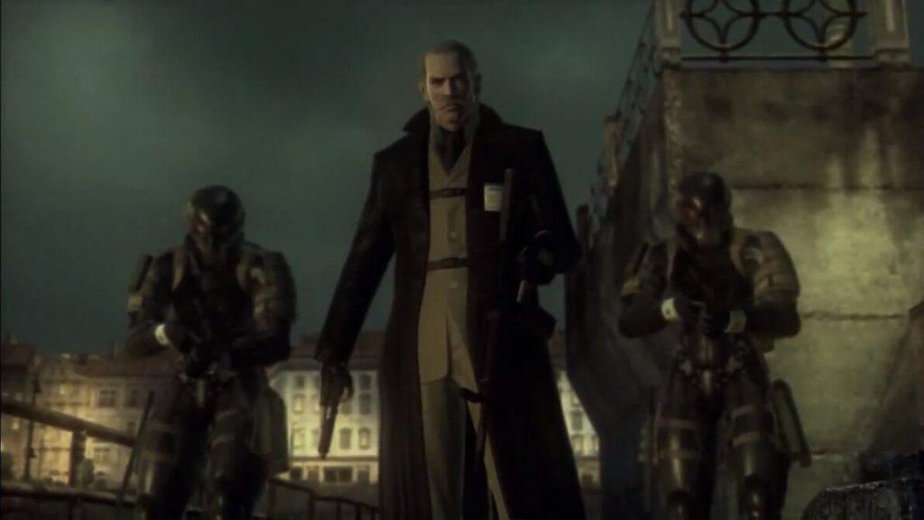 Ликвид Оцелот – Metal Gear Solid 4