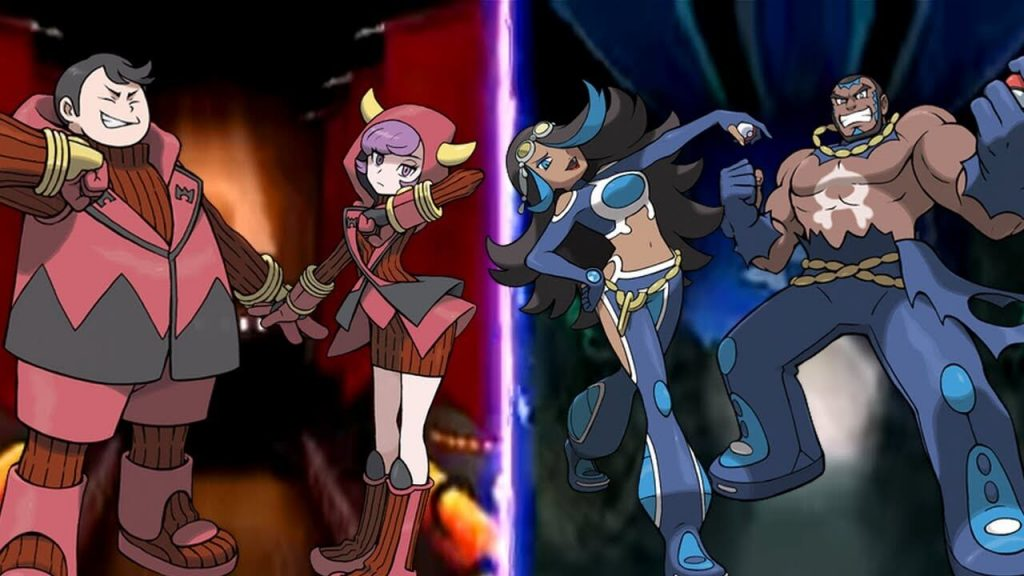 Команда Аква и Команда Магма – Pokemon Ruby/Sapphire