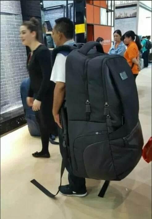 Она может стать вашим мобильным рюкзаком