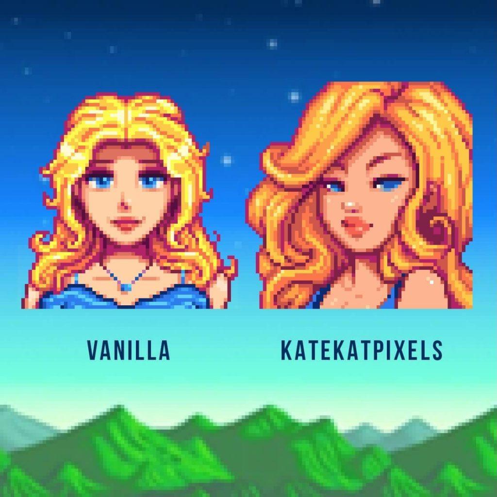 Мод для Stardew Valley перерабатывает все выражения лиц персонажей