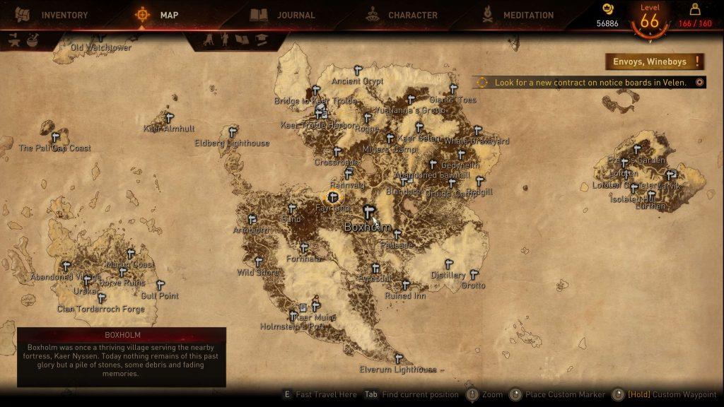 Мод для The Witcher 3 в деталях восстановил HUD и UI из демо игры с E3 2014
