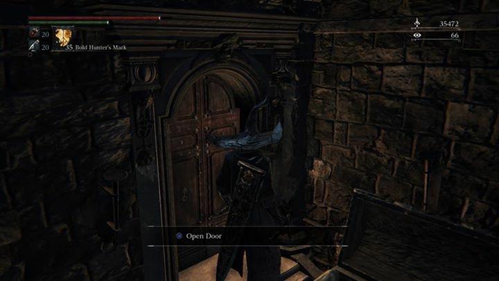 Таинственная запертая дверь из Bloodborne