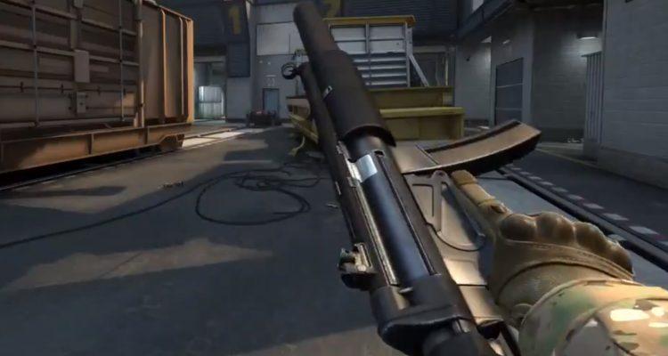 В CS:GO возвращается MP5