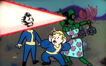 В обучающем видеоролике по Fallout 76 показано, как завести друзей и узреть их ужасающий конец