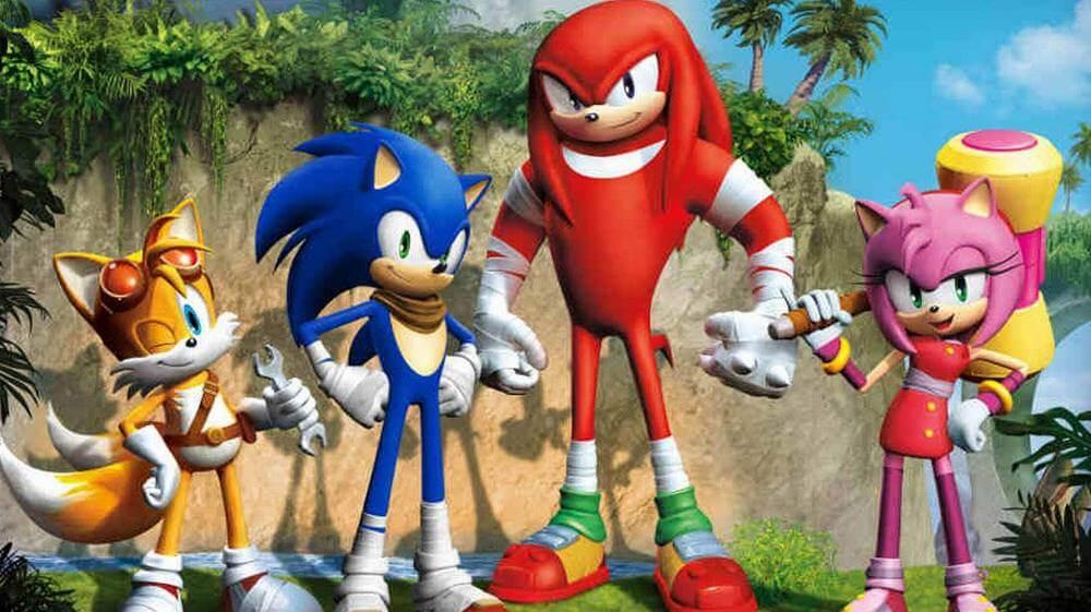 Наклз - Sonic Boom