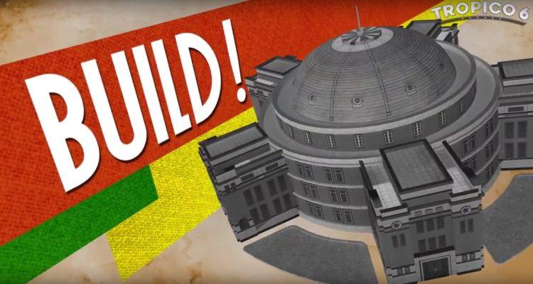 Злобный трейлер Tropico 6 для GamesCom