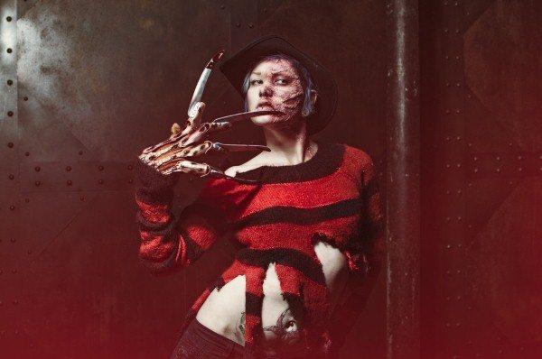 Косплей дня: женская версия Фредди придёт к вам в ночных кошмарах
