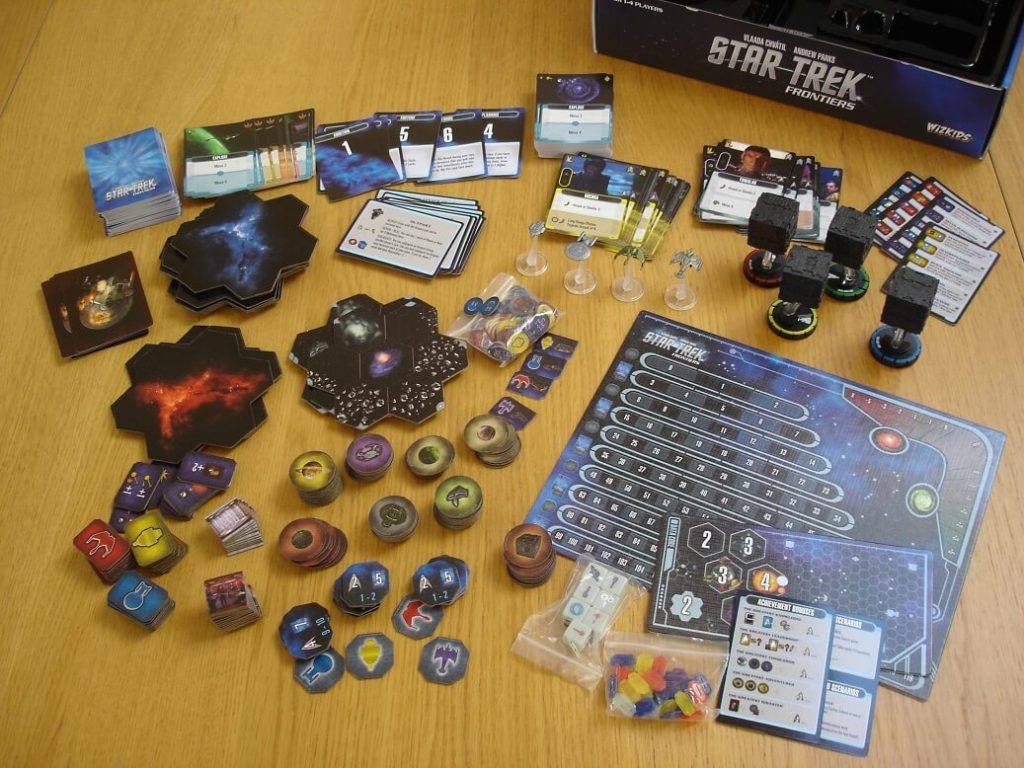 Mage Knight & Star Trek: Frontiers