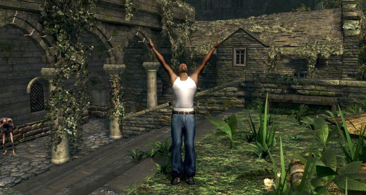 Мод Dark Souls переносит Си-Джея из GTA San Andreas в Лордран