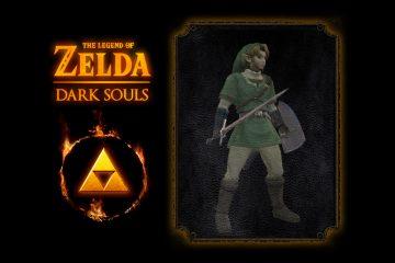 Герой Link в превосходном моде Dark Soul: воспроизведены внешность, аудио и анимация