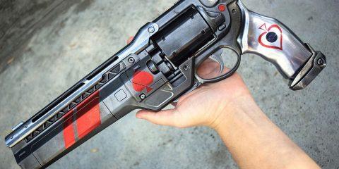 Пушка из Destiny выглядит как настоящая!
