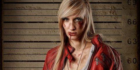 Крутой женский косплей Данте из Devil May Cry!