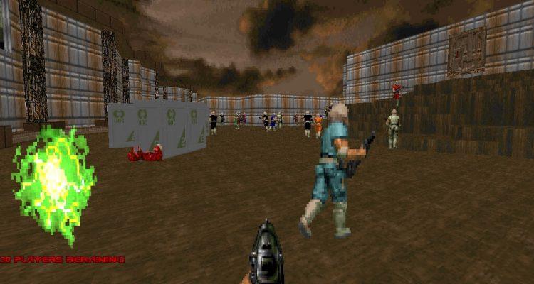 Мод на Doom 2 привносит в классический шутер режим королевской битвы на 64 человека