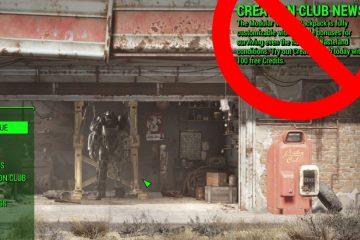 Мод, удаляющий новости «Клуба Творчества» из главного меню Fallout 4 достаточно популярный