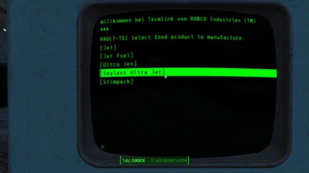 Дополнение Fallout 4 Contraption включает в себя оборудование для переработки трупов и производства «Зеленого Сойлента»