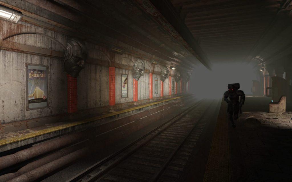 Мод Fallout 4 возводит огромную соединенную сеть тоннелей метро