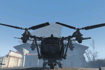 Мод на Fallout 4 позволяет вам иметь портативную базу внутри Вертокрыла
