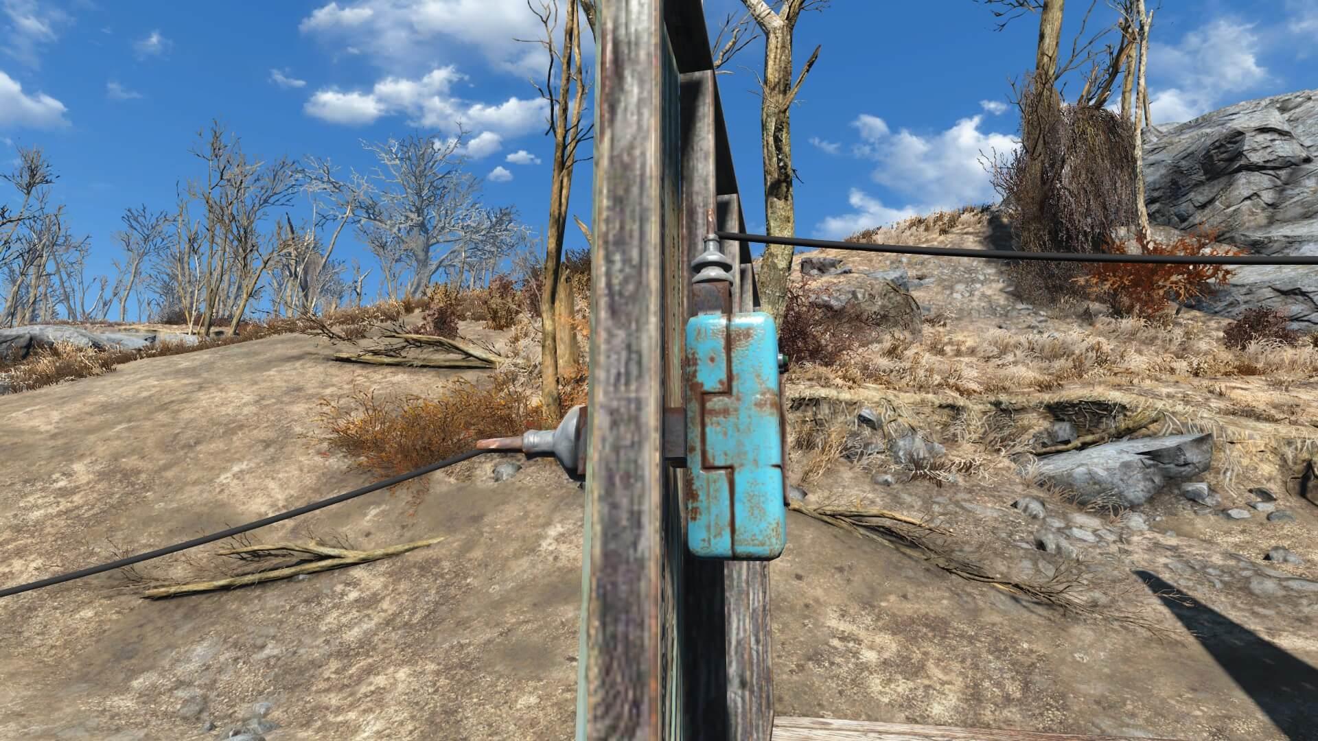 Wall Pass-Through Power Conduits для Fallout 4