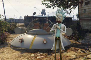 Мод GTA 5 Rick and Morty добавляет Рика и Морти в город Лос Сантос