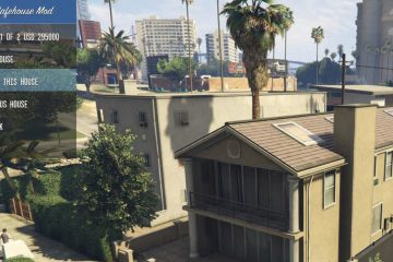 The Savehouse мод для GTA 5