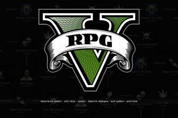 Модификация, которая превращает GTA 5 в RPG-игру