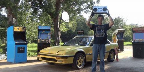 Gunship в поисках косплеев 80-х