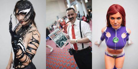 Лучший косплей на Rose City Comic Con 2018