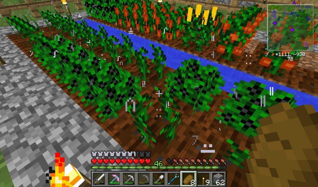 Майнкрафт - Введение в сельское хозяйство